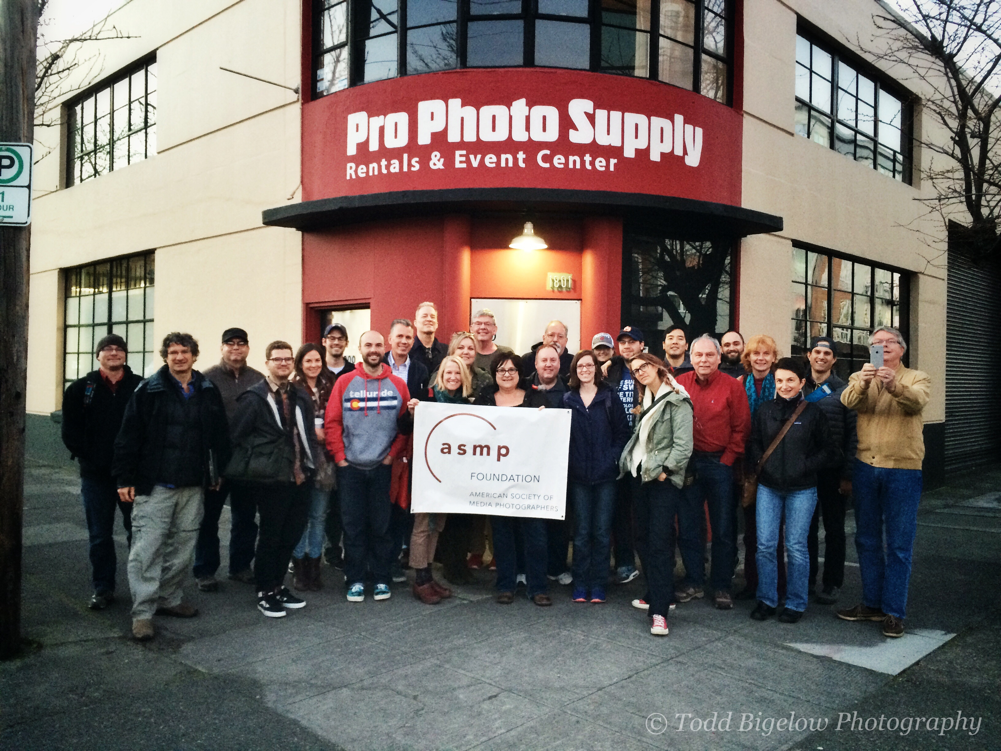 The great people at ASMP Oregon and Pro Photo Supply!