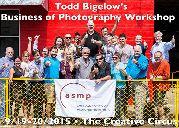 A great group was assembled by the wonderful board at ASMP Atlanta! (Photo © Kevin Ames)