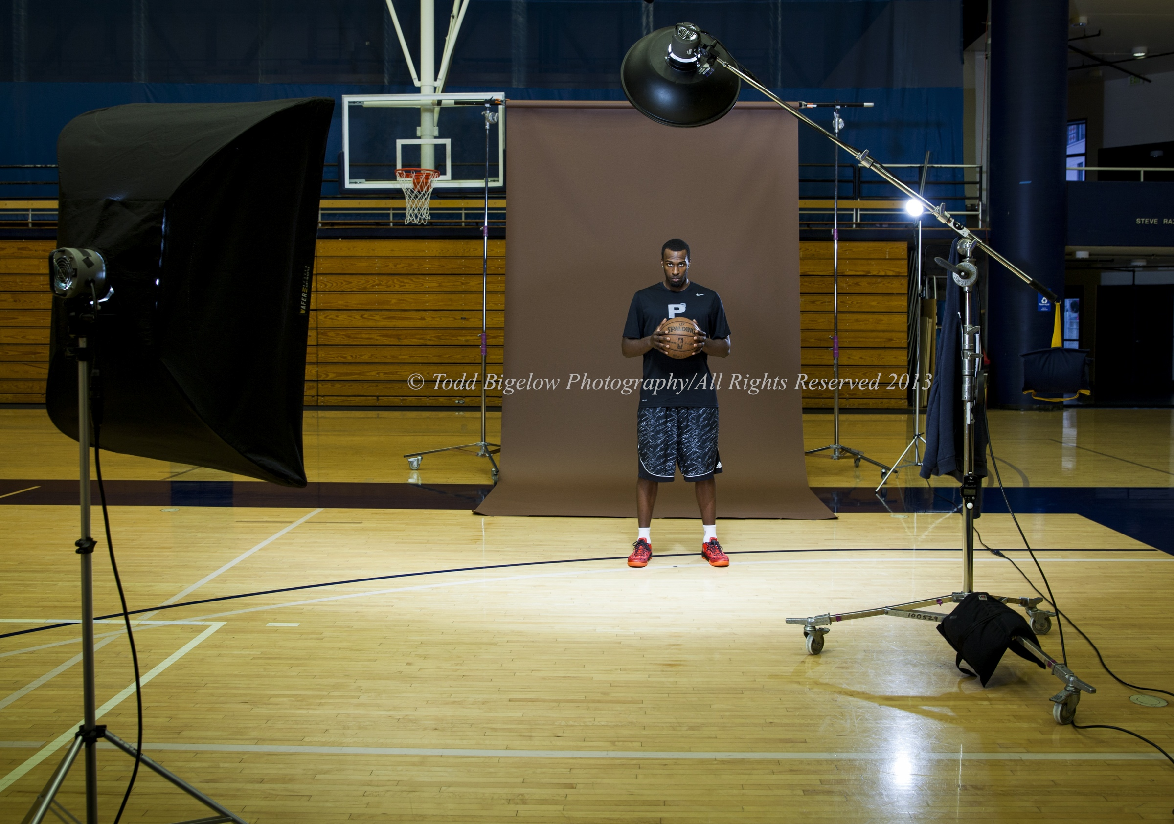 Shabazz Muhammad Shoot for Sports Illustrated