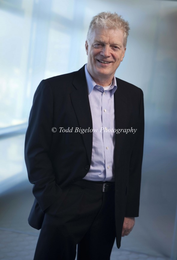 Sir Ken Robinson Portrait Photo Shoot