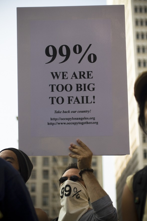 Occupy LA: Too Big to Fail?