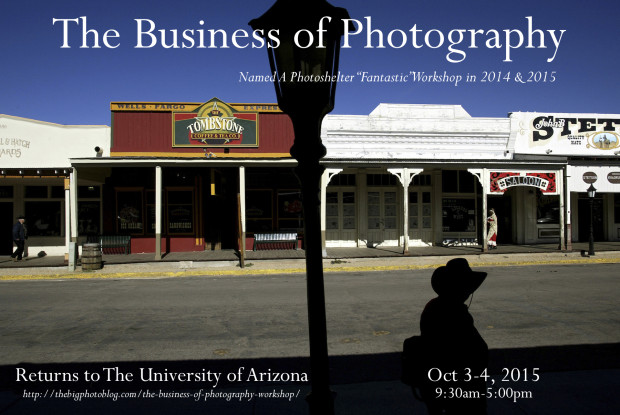 University of Arizona: Business of Photography Workshop